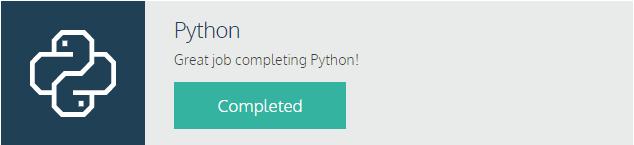 Python-kurssi on tehty